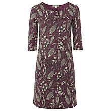 Buy White Stuff Cobble Langton Dress, Dusty Fig Online at johnlewis.com