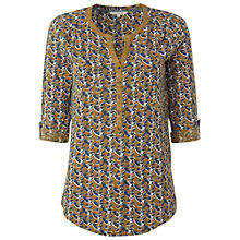 Buy White Stuff Ye Tuppence Shirt, Stepney Yellow Online at johnlewis.com