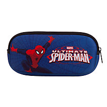 Buy John Lewis Spiderman Sunglasses Case, Navy Online at johnlewis.com