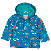 Buy Hatley Boys' Sea Creatures Rain Jacket, Blue Online at johnlewis.com