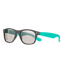 Buy John Lewis Wayfarer Reflective Sunglasses Online at johnlewis.com