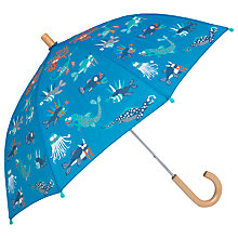 Buy Hatley Children's Sea Creatures Umbrella, Blue Online at johnlewis.com