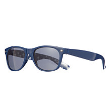 Buy John Lewis Boy Wayfarer Palm Tree Print Sunglasses, Navy Online at johnlewis.com