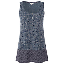 Buy White Stuff Pearly Vest, Teal Online at johnlewis.com