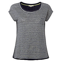 Buy White Stuff Eleanor Stripe T-shirt, Navy/Grey Online at johnlewis.com