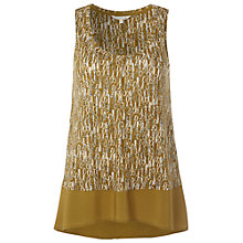 Buy White Stuff Stepney Ye Wilton Vest Top, Stepney Yellow Online at johnlewis.com