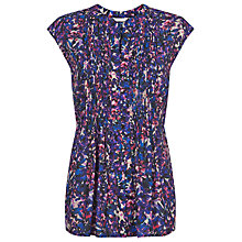 Buy Kaliko Alexa Print Blouse, Multi Navy Online at johnlewis.com