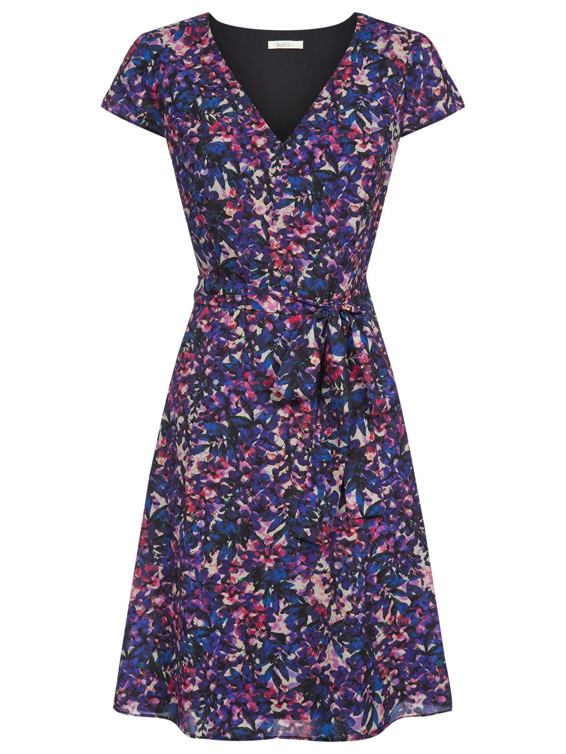 kaliko alexa print prom dress multi navy, kaliko, alexa, print, prom, dress, multi, navy, clearance, womenswear offers, womens dresses offers, special offers, 20% off selected kaliko, women, inactive womenswear, new reductions, womens dresses, 1619487
