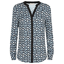 Buy Planet Geo Print Shirt, Multi Online at johnlewis.com