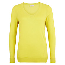 Buy Planet Chartreuse Pointelle Jumper, Lime Online at johnlewis.com