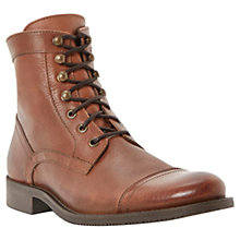 Buy Dune Leather Canada Boots, Tan Online at johnlewis.com