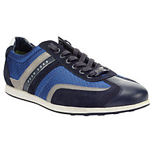 Buy BOSS Stremmo Suede Trainers Online at johnlewis.com