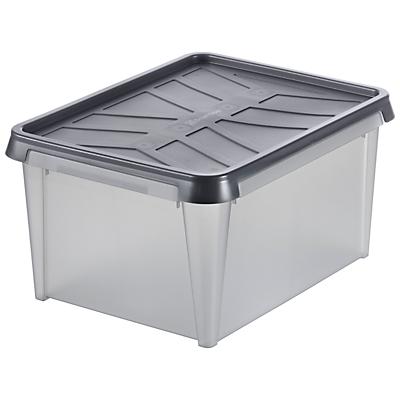 Orthex SmartStore Stackable Plastic Water Resistant Storage Box