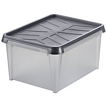 Buy Orthex SmartStore Stackable Plastic Water Resistant Storage Box Online at johnlewis.com