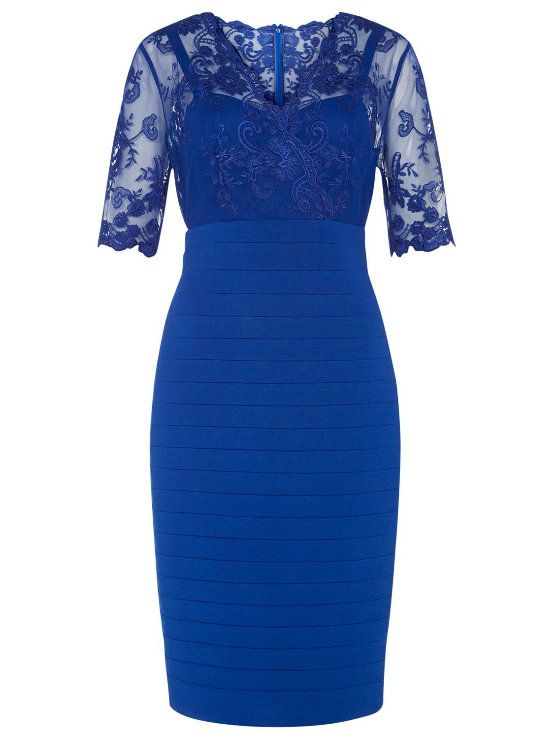 kaliko lace and jersey dress cobalt blue, kaliko, lace, jersey, dress, cobalt, blue, 12|22|18|20|16|10, clearance, womenswear offers, womens dresses offers, special offers, 20% off selected kaliko, women, party outfits, lace dress, inactive womenswear, new reductions, womens dresses, 1627567