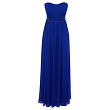 Buy Coast Petite Costa Maxi Dress, Cobalt Online at johnlewis.com