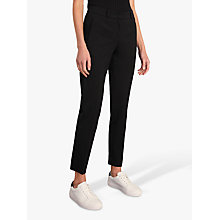 Buy Jigsaw Paris Slim Tapered Trousers, Black Online at johnlewis.com