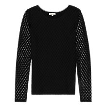 Buy Reiss Pip Long Sleeve Jersey Online at johnlewis.com