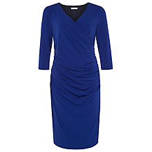 Buy Kaliko Panelled Tuck Dress, Cobalt Online at johnlewis.com