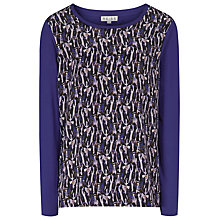 Buy Reiss Katie Print Jersey, Mara Block Online at johnlewis.com