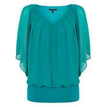 Buy Coast Vittoria Top, Jade Online at johnlewis.com