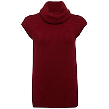 Buy Jaeger Gauge Sleeveless Roll Neck Jumper Online at johnlewis.com