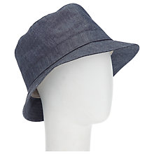 Buy Joules Southbury Sun Hat, Chambray Online at johnlewis.com