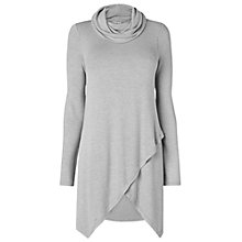 Buy Phase Eight Tara Roll Neck Top, Grey Marl Online at johnlewis.com