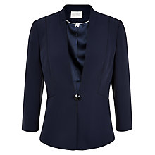 Buy Jacques Vert Satin Trim Jacket, Monique Online at johnlewis.com