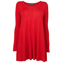 Buy Phase Eight Cali Swing Knit Jumper, Deep Red Online at johnlewis.com