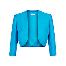 Buy Jacques Vert Piped Edge Bolero, Aegean Online at johnlewis.com