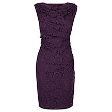 Buy Coast Lianna Lace Dress, Grape Online at johnlewis.com