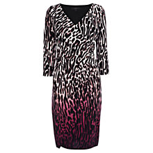 Buy Coast Patterned Animal Print Dress, Pink Online at johnlewis.com