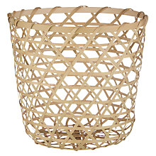 Buy John Lewis Bamboo Storage Basket Online at johnlewis.com