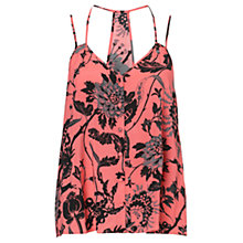 Buy Warehouse Lotus Floral Cami, Multi Online at johnlewis.com