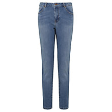 Buy Warehouse Light Wash Denim Girlfriend Jeans, Blue Online at johnlewis.com