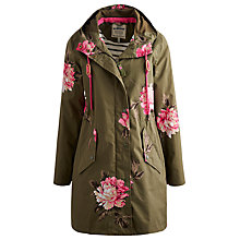Buy Joules Right as Rain Waterproof Parka, Grape Peony Online at johnlewis.com