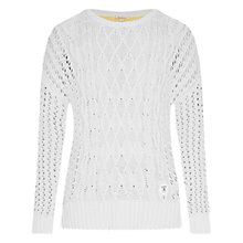Buy Barbour Braye Jumper, Snow Online at johnlewis.com