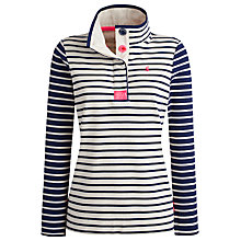 Buy Joules Cowdray Stripe Sweater, Cream Navy Stripe Online at johnlewis.com