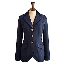 Buy Joules Parade Tweed Jacket, Marine Navy Chevron Online at johnlewis.com