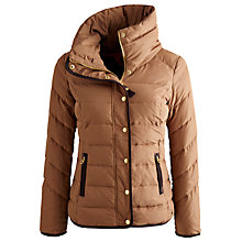 Buy Joules Holthorpe Padded Jacket, Wholemeal Online at johnlewis.com