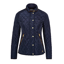 Buy Joules Cavendish Coat, Marine Navy Online at johnlewis.com