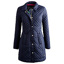 Buy Joules Fairhurst Coat, Marine Navy Online at johnlewis.com