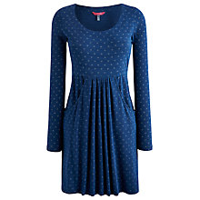 Buy Joules Alexi Tunic Dress, Chambray Horseshoe Online at johnlewis.com