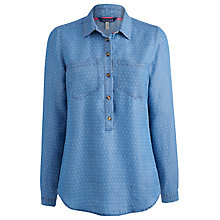 Buy Joules Charlotte Shirt, Chambray Spot Online at johnlewis.com