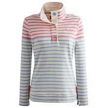 Buy Joules Cowdray Stripe Sweatshirt, Pretty Pink Stripe Online at johnlewis.com