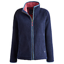 Buy Joules Zip Up Fleece Sweatshirt Online at johnlewis.com