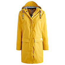 Buy Joules Seafarer Waterproof Rubber Mac, Cornfield Yellow Online at johnlewis.com