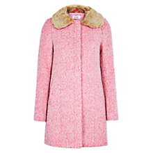 Buy Louche Ronnie Coat, Pink Online at johnlewis.com