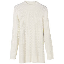 Buy Winser Aran Jumper, Ivory Online at johnlewis.com
